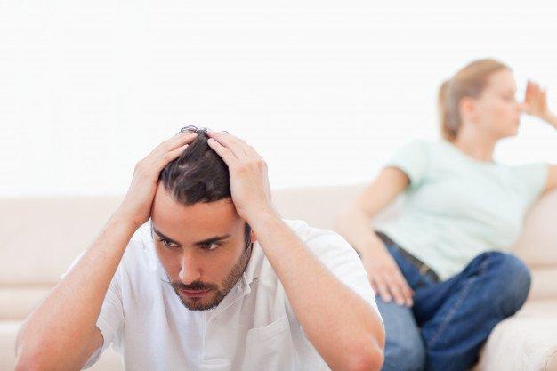Quando o teste de paternidade é negativo. Não é o pai da criança.