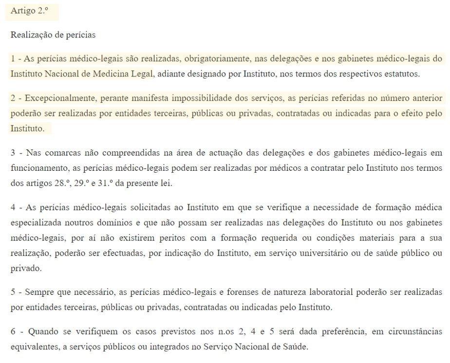 legislação teste de paternidade art. 2